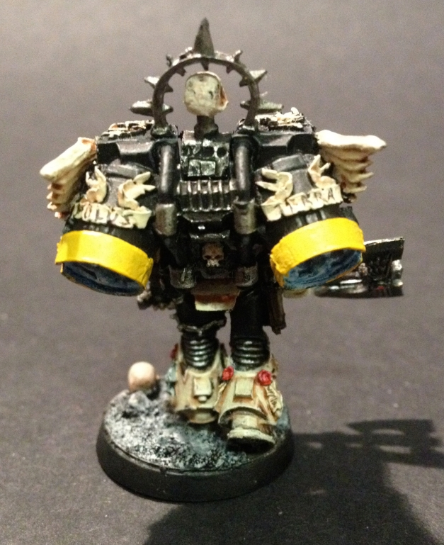 jump pack space marine captain