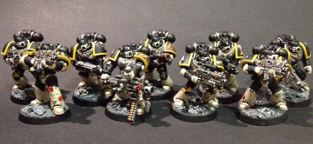 Mortifactors Space Marines