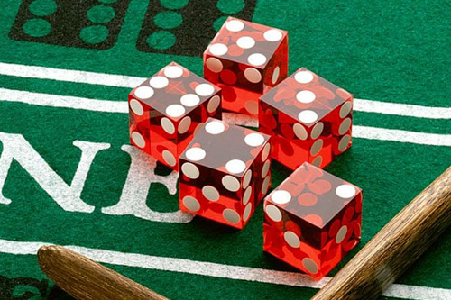 Why no dice in california craps