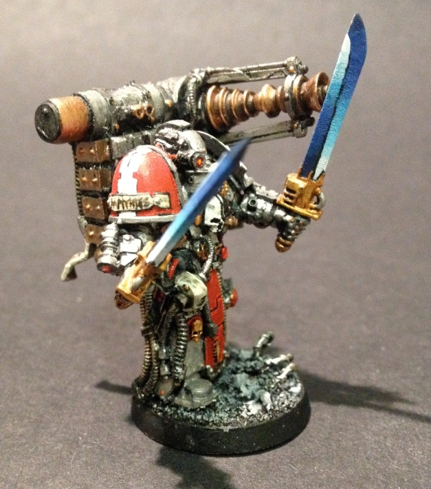 techmarine with conversion beamer