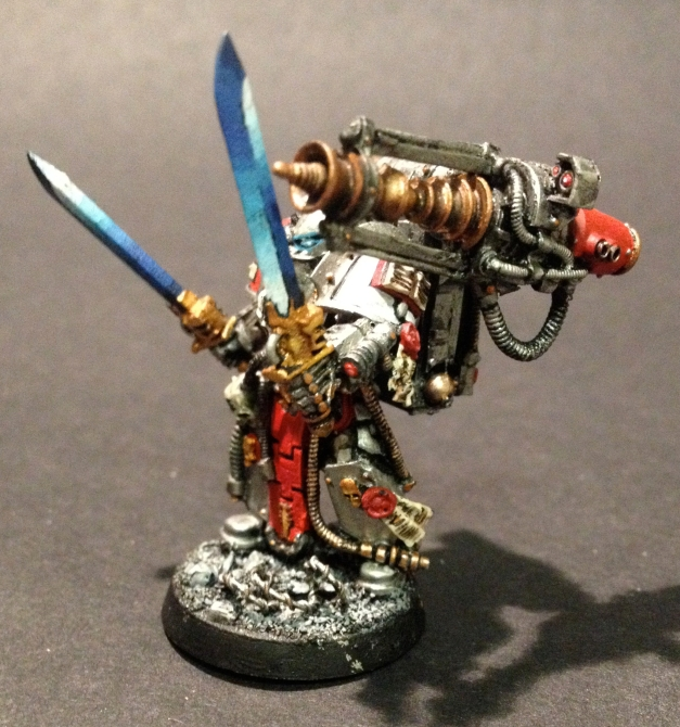 grey knights techmarine conversion