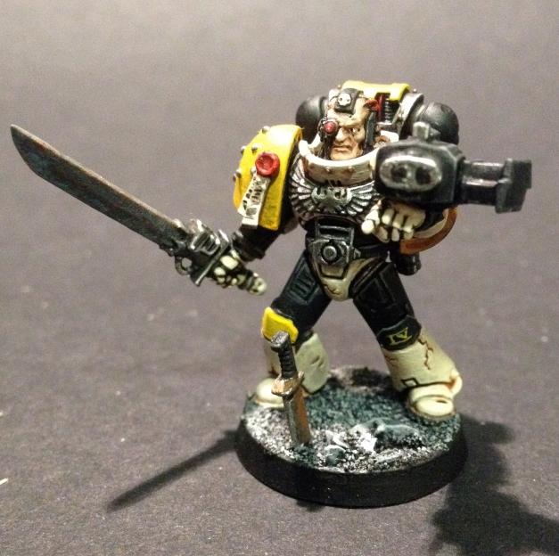 Mortifactors Space Marines Veteran Sergeant
