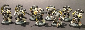 Mortifactors Tactical Squad with Veteran Sergeant