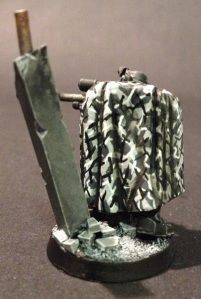 Space Marine Scout with Urban Camo Cloak