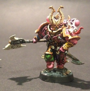 Chaos Space Marine Aspiring Champion