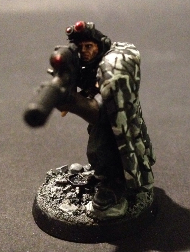 Mortifactors Space Marine Scout