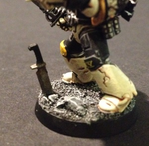 typhus corrosion on leadbelcher