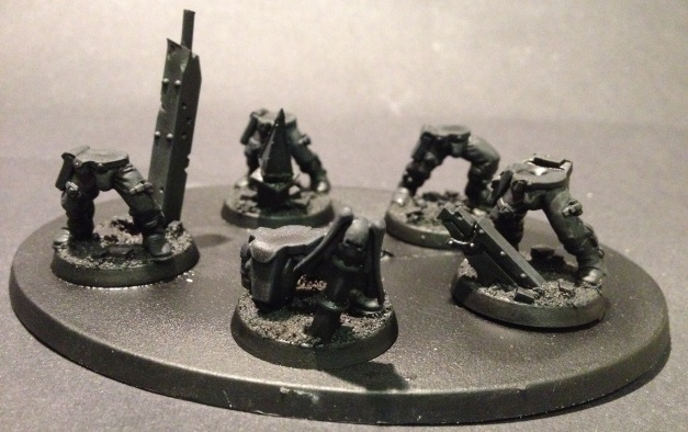 Basing Space Marine Scouts