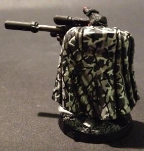 space marine scout camo cloak