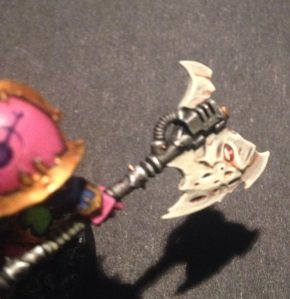 aspiring champion axe detail
