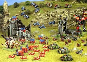 imperial vs tyranids epic