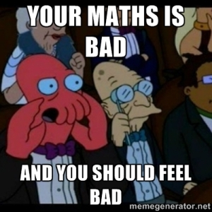 bad maths zoidberg