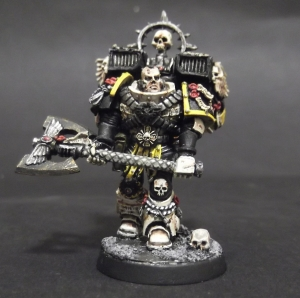 Mortifactors Captain with Axe and Jetpack
