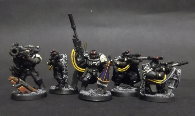 Mortifactors Scouts with Sniper Rifles