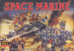 space marine 2nd edition box