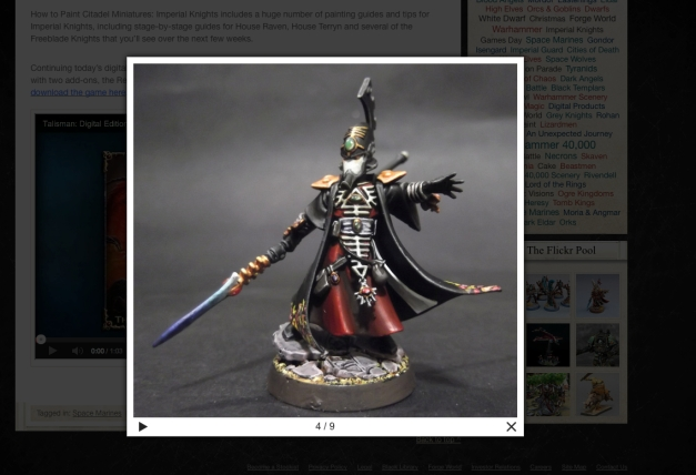 farseer on gw blog
