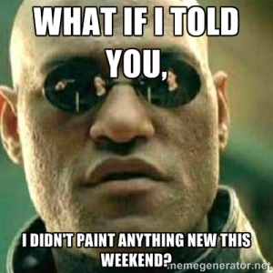 no new painting