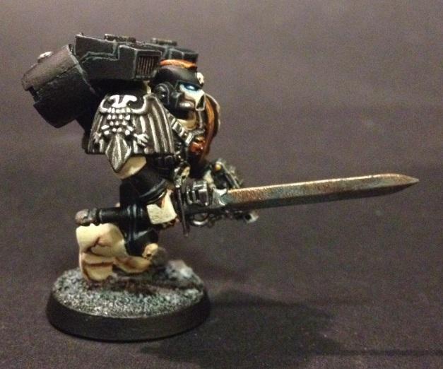 vanguard vet with power sword