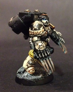 vanguard veteran with lightning claws