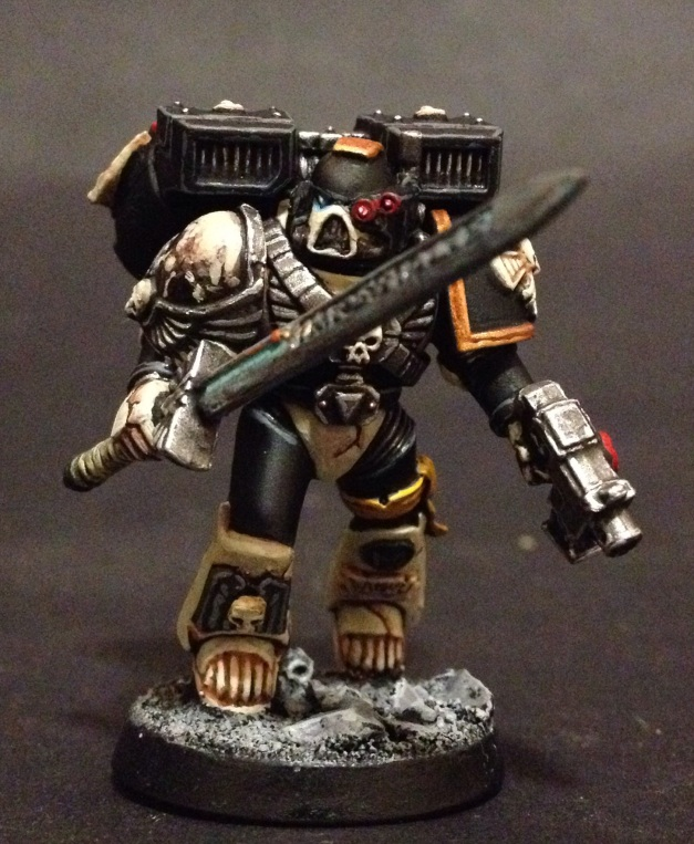 vanguard veteran of the mortifactors space marines