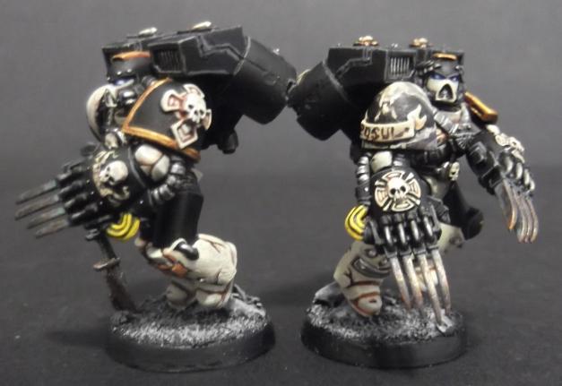 vanguard veteran mortifactors with lightning claws