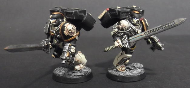 mortifactors vanguard vets with swords and pistols