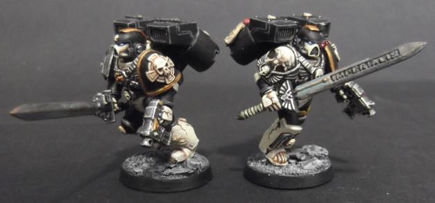 mortifactors vanguard vets with swords and pistols