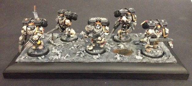 mortifactors vanguard veterans on display plinth