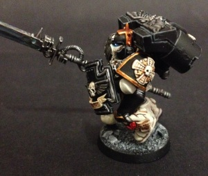 veteran with power weapon and storm shield