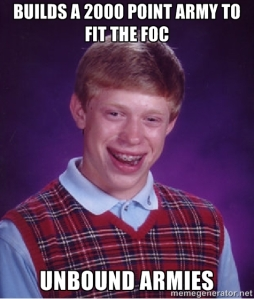 bad luck brian 40k