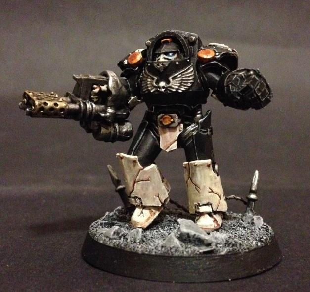 Mortifactors Terminator with Heavy Flamer