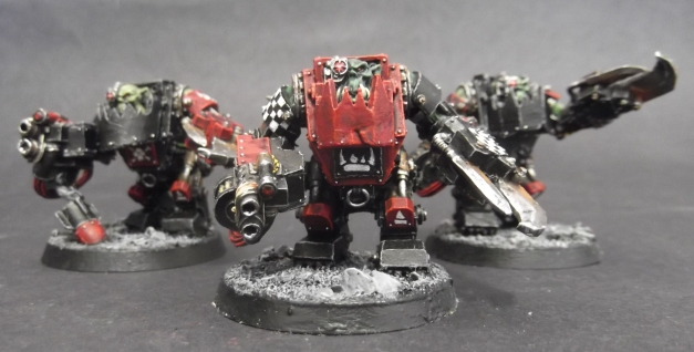 Squad of Ork Meganobz