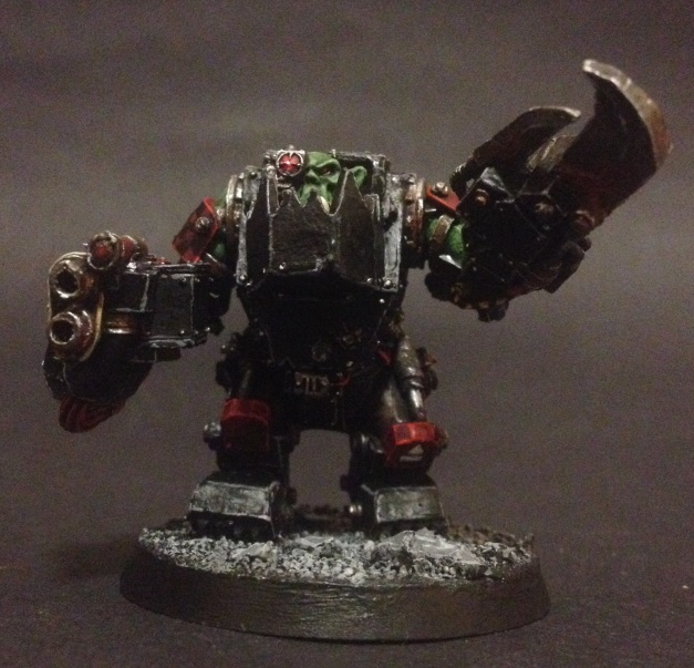 Ork Meganob with Twin Linked Shoota and Power Klaw