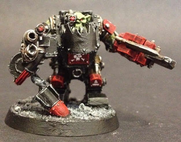 Ork Meganob with rocket base