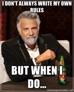 most interesting rules