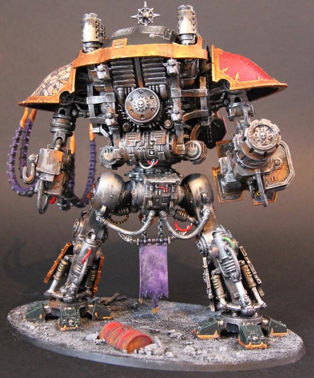 rusting knight rear