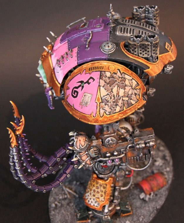 knight with tentacles
