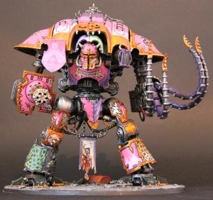Dios Toros - Slaaneshi Imperial Knight