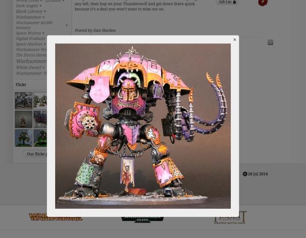 dios toros on GW blog