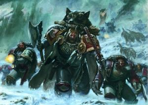 space wolves illustration