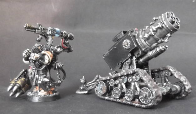 thunderfire cannon and techmarine