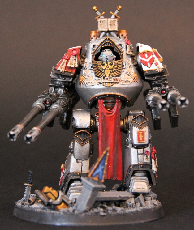 Grey Knights Contemptor Dreadnought