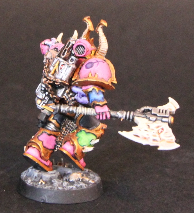 chaos champion with axe