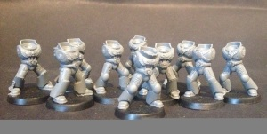 unassembled marines