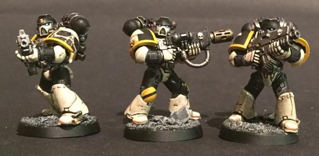 mortifactors melta gun bolters