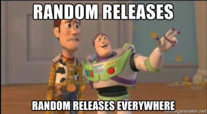 new releases everywhere