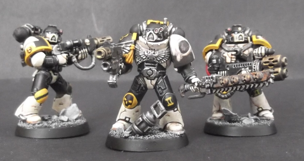 space marine melta weapons