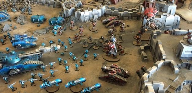 alpha legion vs mechanicus
