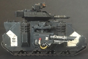 mortifactors predator tank side