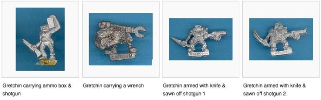 old metal gretchin